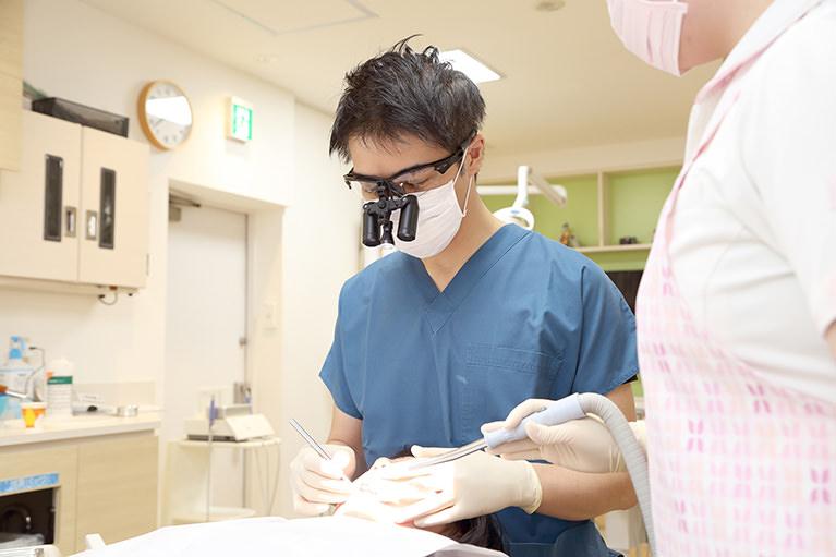 当院の虫歯治療について