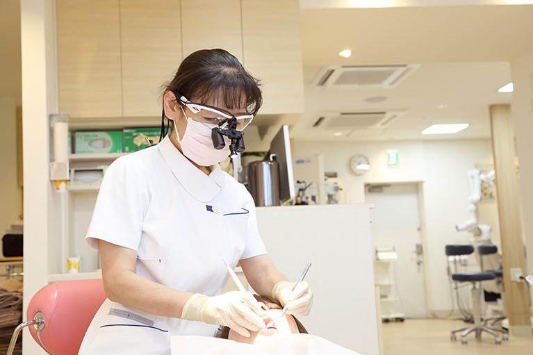 完全担当歯科衛生士制を導入
